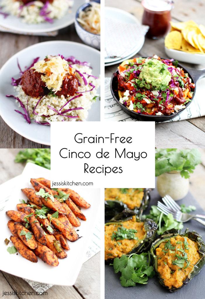 Grain Free Cinco de Mayo Recipes from Jessi's Kitchen