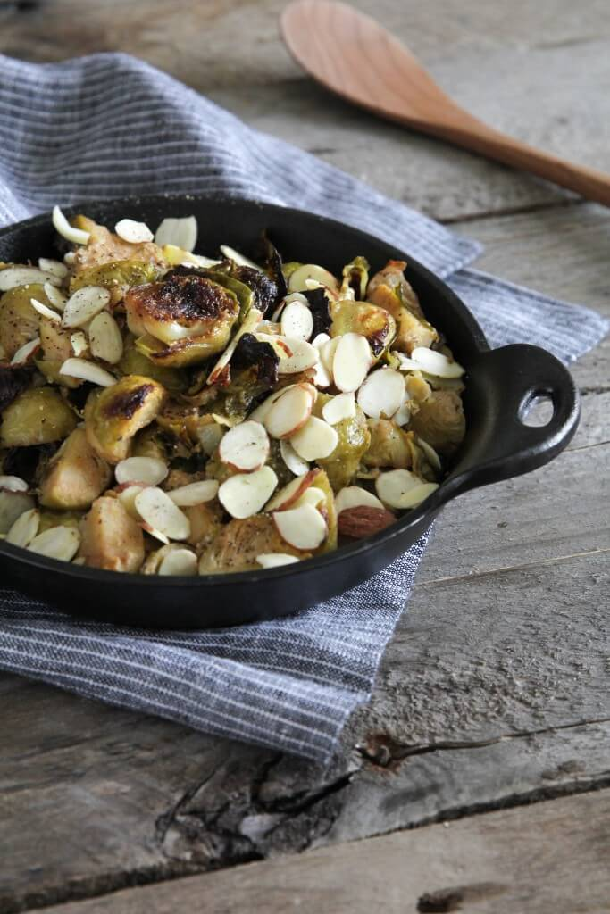 Dijon and Apple Brussels Sprouts: Jessi's Kitchen