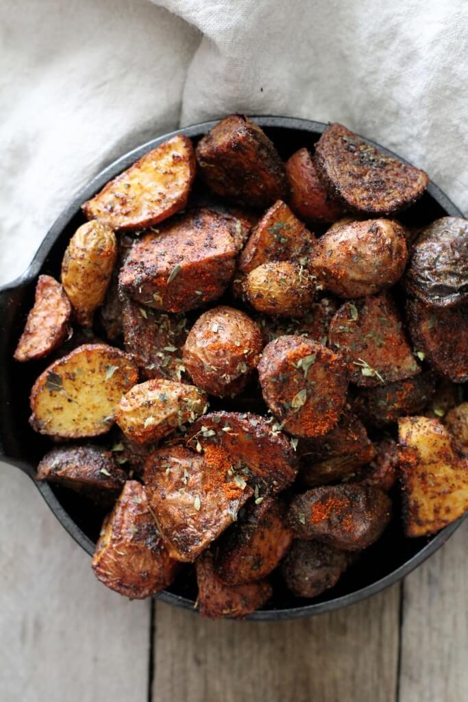 Chili Roasted Potatoes: Jessi's Kitchen