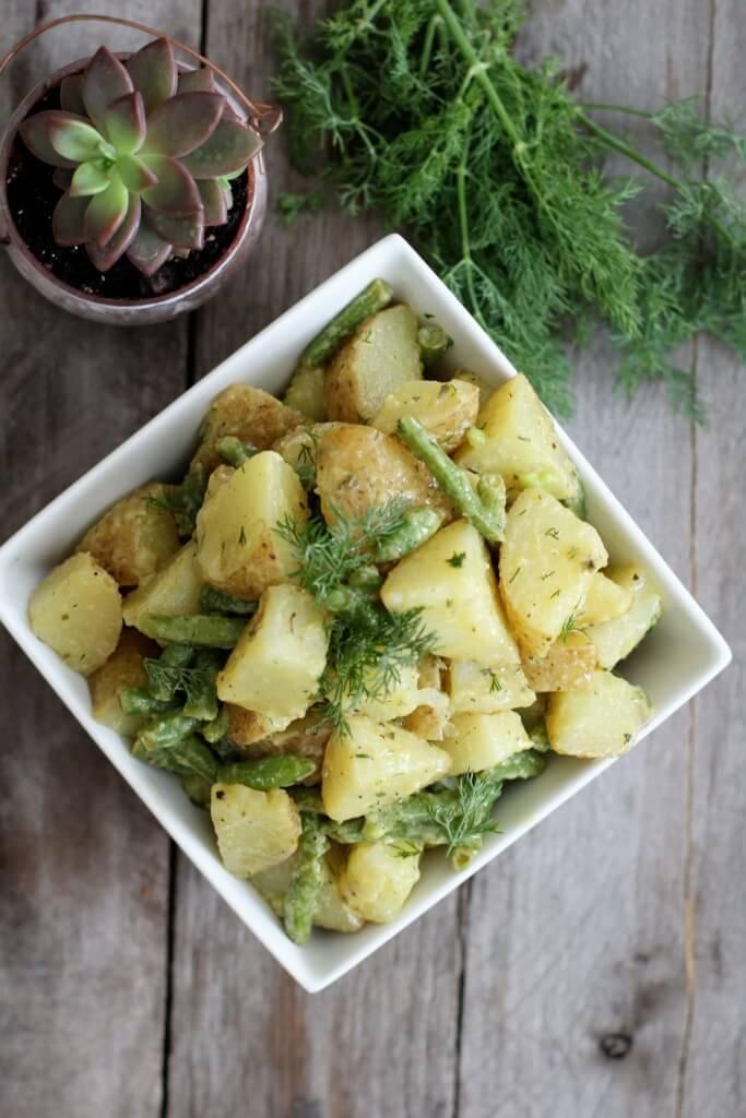 Dijon and Dill Potato Salad: Jessi's Kitchen