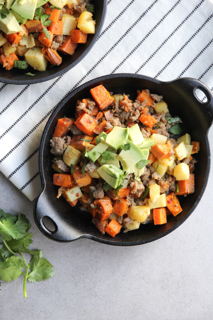 Sweet Potato and Parsnip Breakfast Hash: Jessi's Kitchen