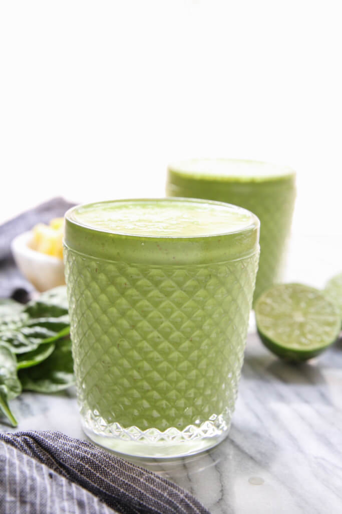 Tropical Green Smoothie: Jessi's Kitchen