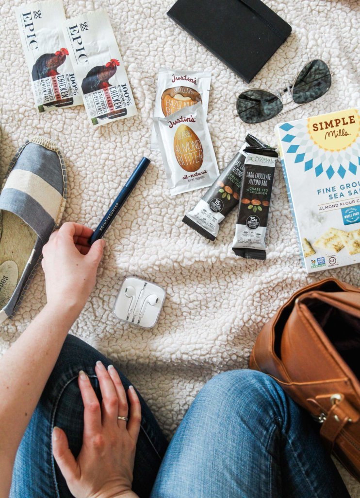 My Favorite Carry-on Items and Healthy Snacks
