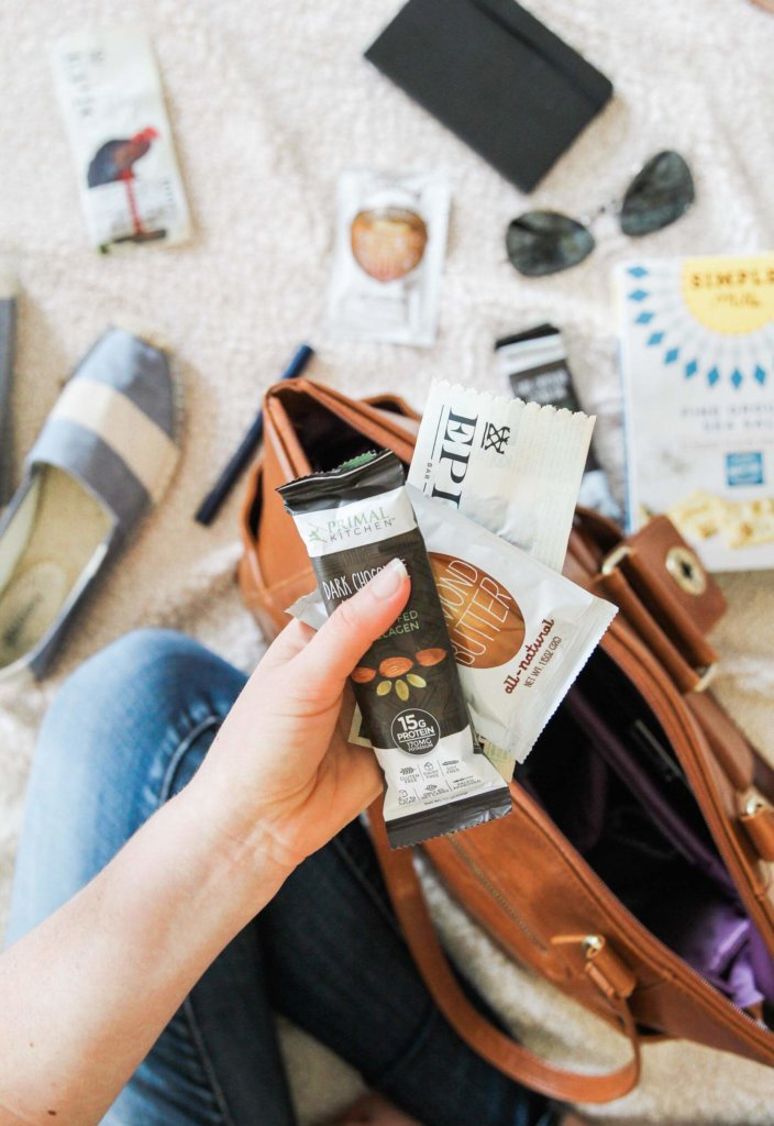 My Favorite Carry-on Items and Healthy Snacks: Jessi's Kitchen