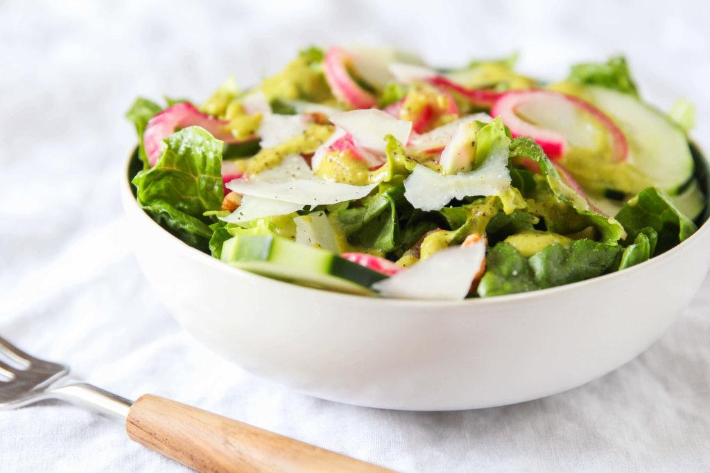 Romaine Salad with Roasted Tomatillo Dressing: Jessi's Kitchen