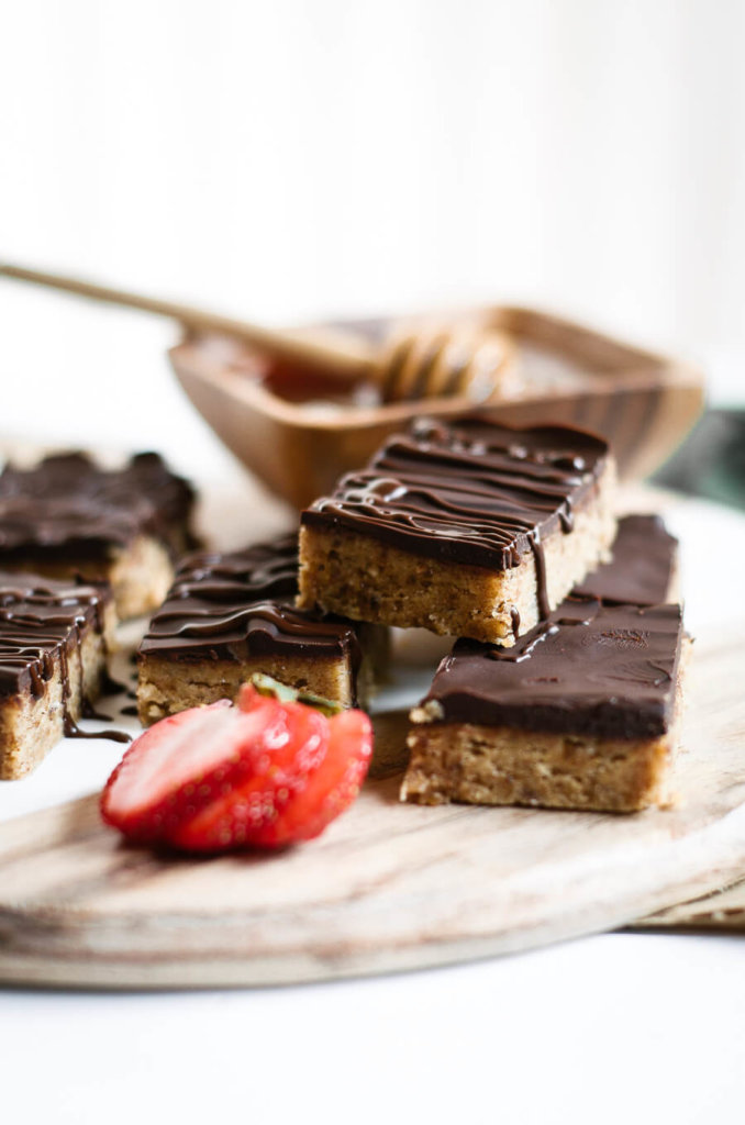 "Paleo ""Peanut Butter"" Protein Bars: Paleo & Gluten Free Eats"