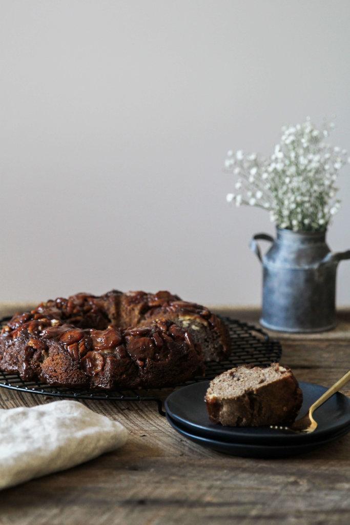 Gluten-free Caramelized Banana Coffee Cake: Jessi's Kitchen