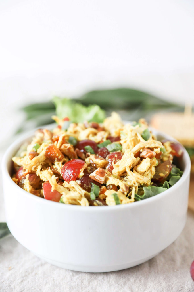 Curry Chicken Salad: Jessi's Kitchen