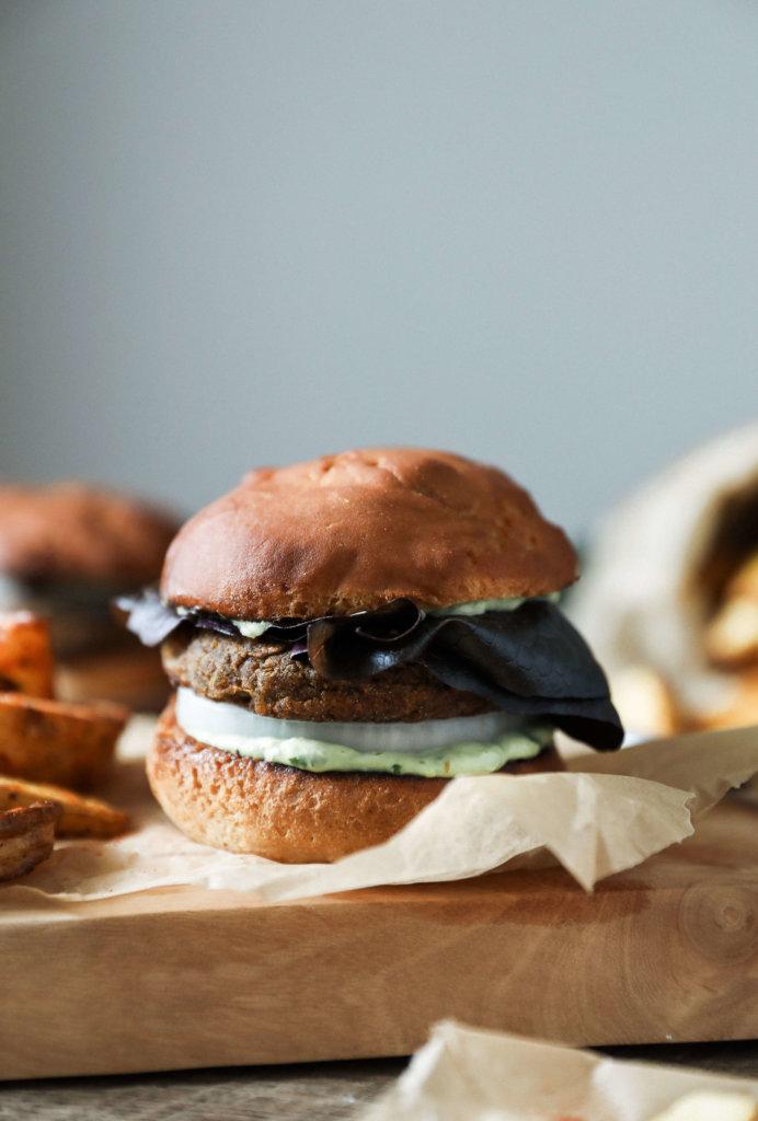 Sweet Potato Lentil Burger: Jessi's Kitchen