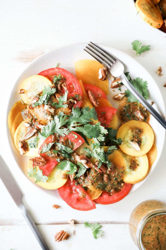 Chipotle Beet Tomato Salad: Jessi's Kitchen