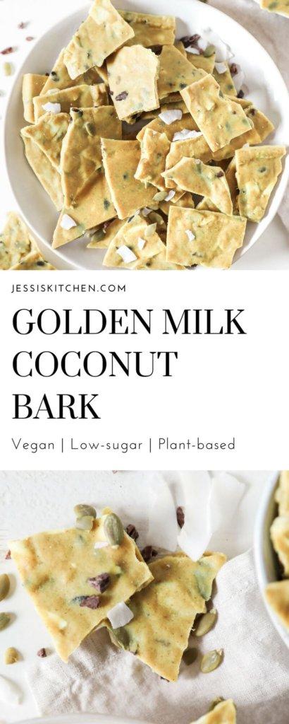 Golden Milk Coconut Bark: Jessi's Kitchen