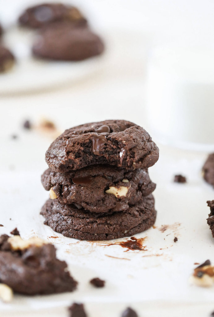 Chocolate Buckwheat Cookies: Jessi's Kitchen