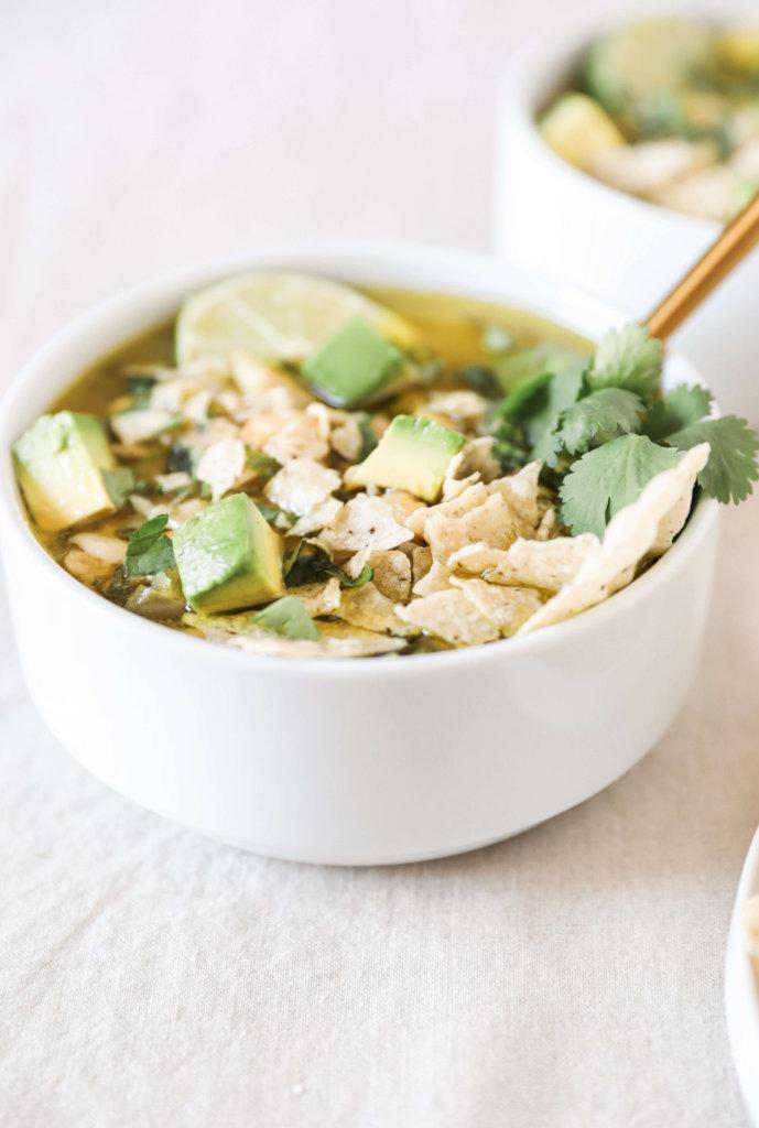 Dairy-free White Bean Chicken Chili: Jessi's Kitchen