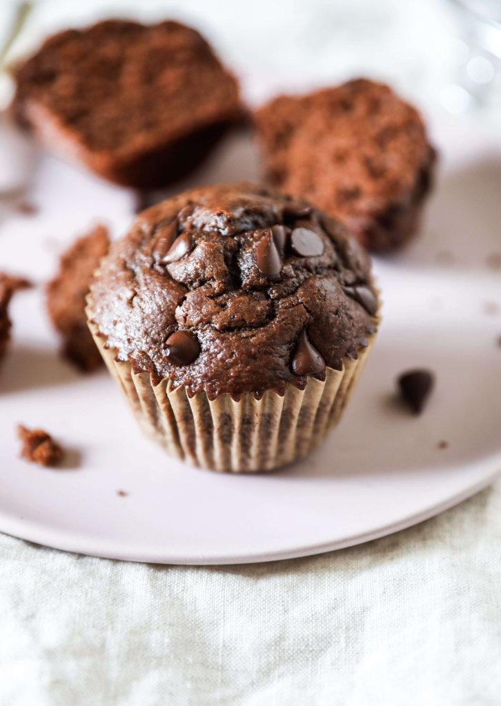 Gluten-free Double Chocolate Chip Muffins: Jessi's Kitchen