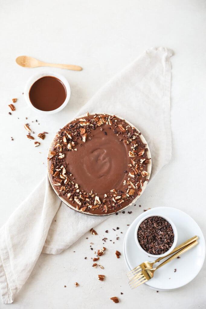 Vegan Coffee Cacao Cheesecake: Jessi's Kitchen