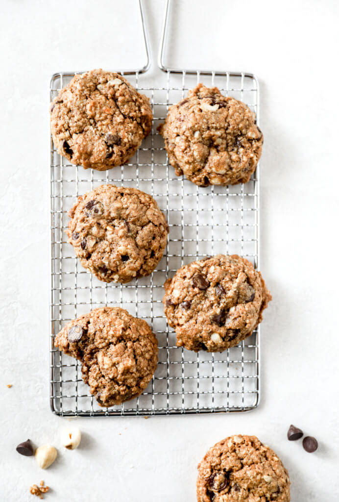 Hazelnut Oatmeal Cookies: Jessi's Kitchen